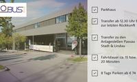 günstig Parken am Hafen Passau